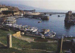 Vue sur le port actuel de Byblos