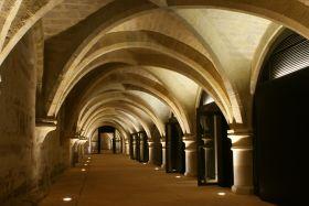 le cellier du Collège des Bernardins