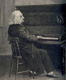 Liszt au piano