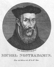 Portrait de Nostradamus par le Dr Niel.