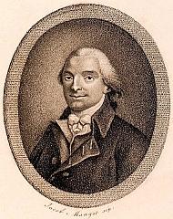 Jean-Pierre Claris de Florian (1755-1794), élu membre de l'Académie française en 1788