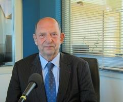 Pierre Gény, actuel secrétaire perpétuel de l'Académie des sciences d'outre mer