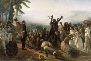 L'abolition de l'esclavage (1849) par François-Auguste Biard - Château de Versailles