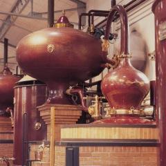 """""""La distillation du cognac se fait dans un alambic spécial dit """"alambic à repasse"""""""