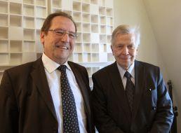 Christian Charrière-Bournazel et Jean-Denis Bredin à Canal Académie