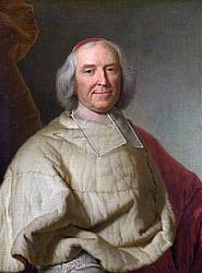 André-Hercule de Fleury (1653-1743), élu  membre de l'Académie française en 1717