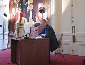 Jean Piat, membre dujury du prix Louis Pauwels