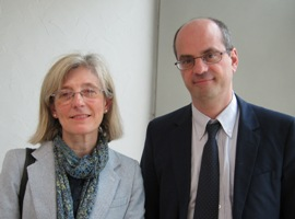 Marie-Danièle Campion et Jean-Michel Blanquer