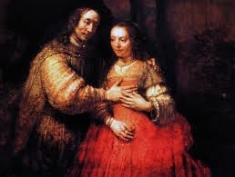 La fiancée juive, Rembrandt