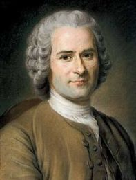 Pastel de Maurice Quentin de La Tour, Jean-Jacques Rousseau, en 1753, (alors âgé de 41 ans)