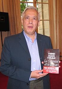 Trinh Xuan Thuan, vainqueur du prix Louis Pauwels