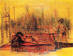 Jean Carzou, La Mélancolie, 1963