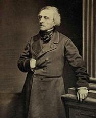 Jean-Jacques Ampère photographié par Adam-Salomon