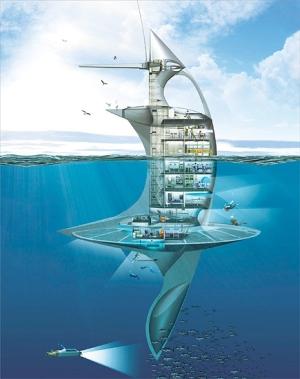 SeaOrbiter, projet de Jacques Rougerie