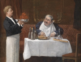 Le Gourmand d'Henri Brispot.