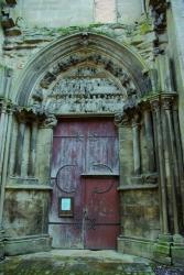 Semur, portail
