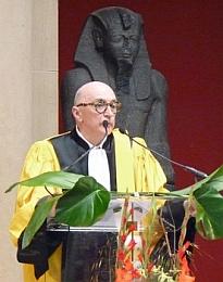 Roland Recht lors de la Cérémonie des docteurs de l'Université de Strasbourg