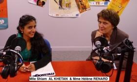 Shiam et Hélène Renard