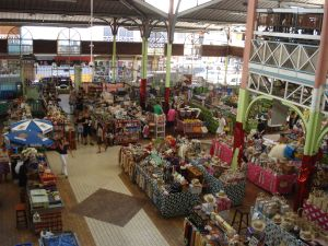 Tahiti, marché de Papeete