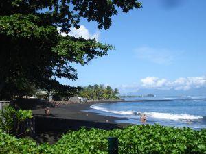 Tahiti, plage de la Pointe de Vénus