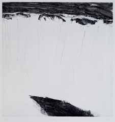 Catherine Gillet (née en 1960), L'espace d'un instant, 2008, burin sur cuivre, 47 x 49 cm