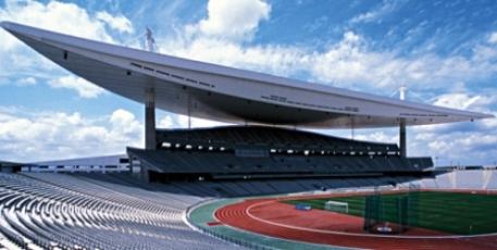 Stade olympique Atatürk d'Istanbul en Turquie. Construit en 2001, il accueille depuis 2003 les finales de la Coupe de Turquie de football © SCAU