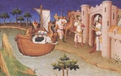 Miniature extraite du Livre des merveilles