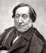 Rossini photographié par Nadar
