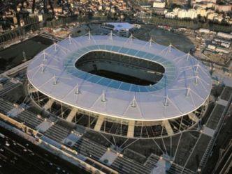 Stade de France de Saint-Denis. Le plus grand stade de France est inauguré par Jacques Chirac en 1998 © SCAU