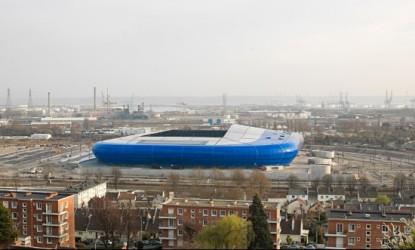 Grand Stade du Havre. Le stade est inauguré le 12 juillet 2012 © SCAU