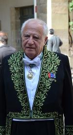 Aymeric Zublena, membre de l'Académie des beaux-arts