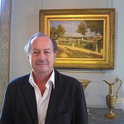Jean-Marie Rouart, de l'Académie française, musée Marmottan Monet, septembre 2012