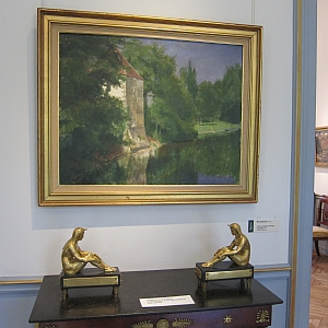 Musée Marmottan Monet, exposition Henri Rouart l'œuvre peinte (1833-1912), septembre 2012