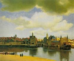 la vue de Delft de Johannes Vermeer