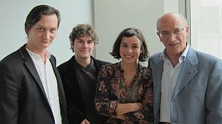 Etienne Champollion, Damien Roquetty, Hélène Merlin et Giovanni Dotoli,