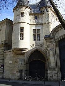 Hôtel de Clisson, rue des Archives à Paris