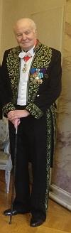 Arnaud d'Hauterives, Secrétaire perpétuel de l'Académie des beaux-arts,  Institut de France, 21 novembre 2012, Séance solennelle de l'Académie des beaux-arts
