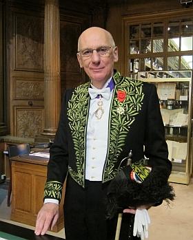 Michel Zink, Secrétaire perpétuel de l'Académie des inscriptions et belles-lettres, 30 novembre 2012
