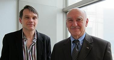 Pierre-Yves Le Pogam, Jean-Bernard de Vaivre (à droite), Canal Académie, 23 novembre 2012