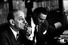 Raymond Aron (1905-1983), au premier plan