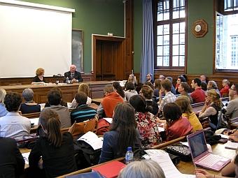 Grande salle de l'Ecole des chartes