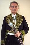 François-Bernard Mâche, membre de l'Académie des beaux-arts