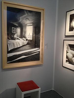 Galerie Trigano, Art Elysées 2012, photographies aux murs de Lucien Clergue, 18 octobre 2012