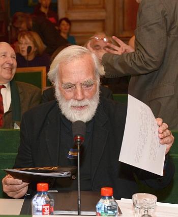 Pierre Carron de l'Académie des beaux-arts, 28 novmbre 2012