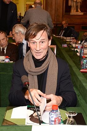 Bernard Perrine, Correspondant de l'Institut, section photographie, Académie des beaux-arts, 28 novembre 2012