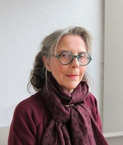 Catherine Ravelli, auteur du livre Accident voyageur (éditions La feuille de thé) primé par l'Académie française en 2012