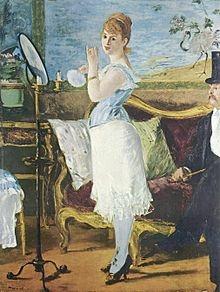 Nana (1877) de Manet