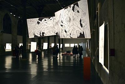 Exposition Trémois, Traits de passion, Réfectoire des Cordeliers, 2013