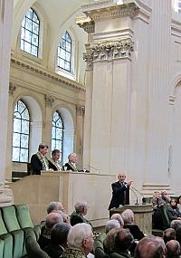 Chief Justice Stephane Breyer, 8 avri 2013, Institut de France