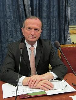Jean de Kerguiziau de Kervasdoué, Académie des Sciences morales et politiques, 22 avril 2013
